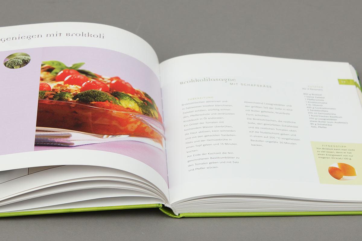 Heilsames Gemüse von Susanne Martin aus der Reihe {e}motion. Innen-Seiten
