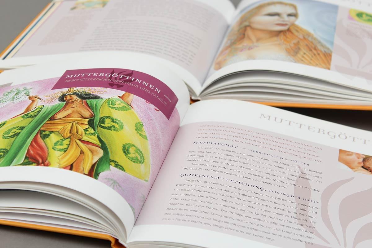 Die Heilkunst der Frauen von Sasse Marois aus der Reihe {e}motion. Innen-Seiten