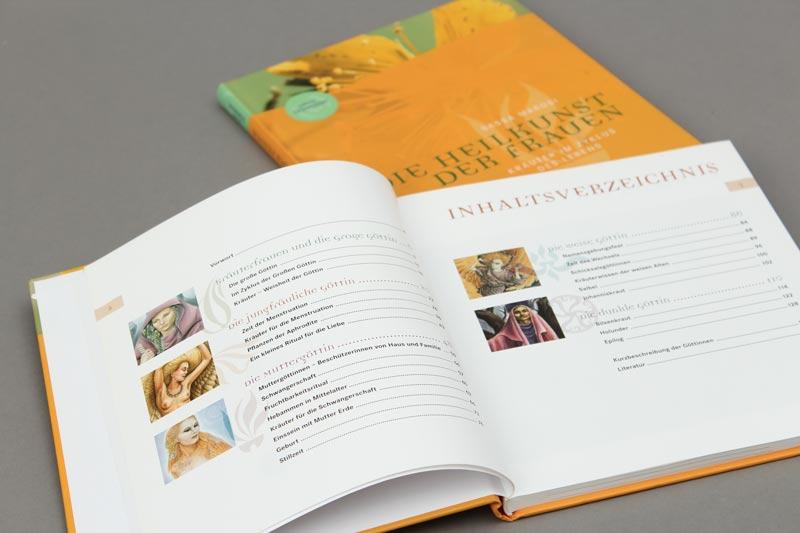 Die Heilkunst der Frauen von Sasse Marois aus der Reihe {e}motion. Inhaltsverzeichnis.