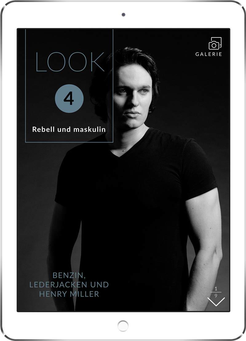 """Cover """"Benzin, Lederjacken und Henry Miller. Auf iPad."""