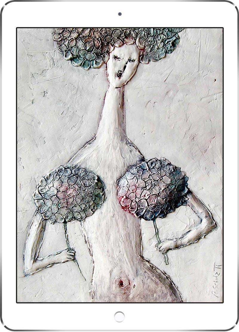 """Bild """"Shy Hortenzia"""" von Alena Schulz"""