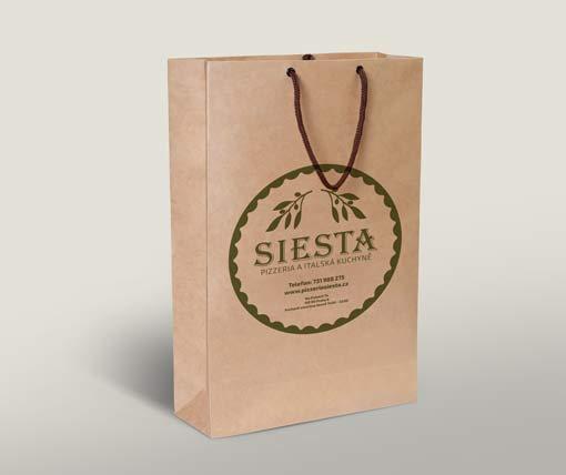 Restaurant Siesta Papiersack