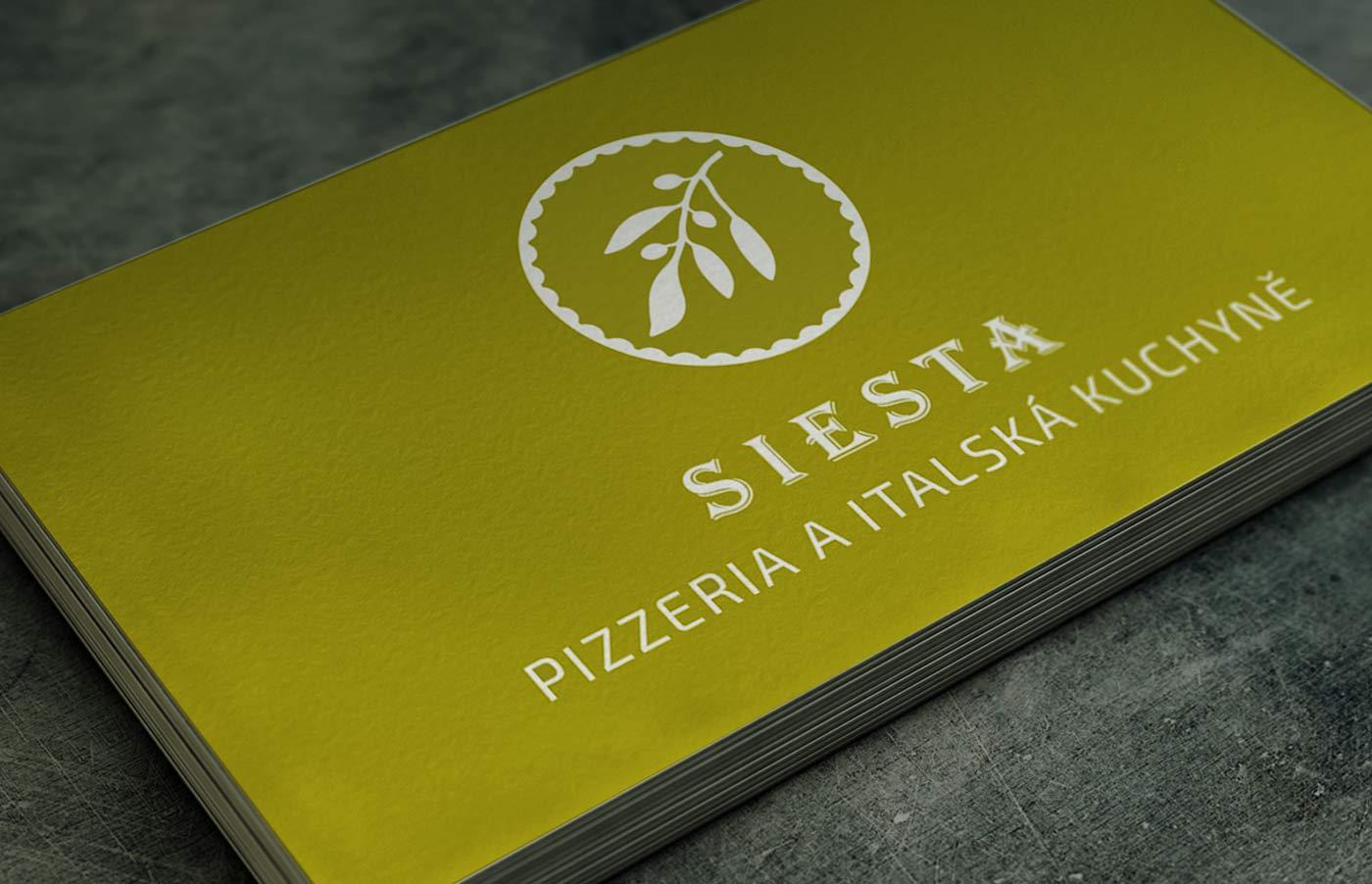 Visitenkarte Restaurant Siesta